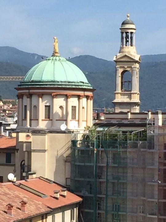 Ausblick Dachterrasse Hotel NH Bergamo