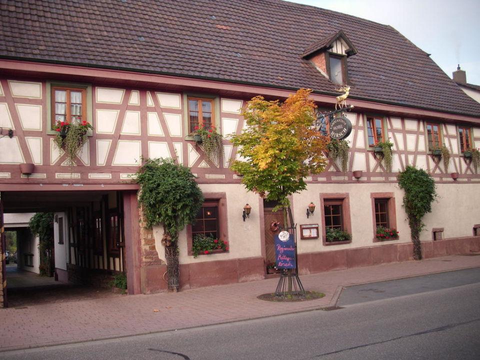 Richtung Restaurant Landgasthof Zum Hirsch