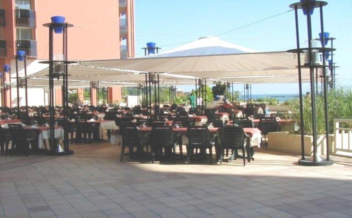 Außenrestaurant-Pegasos Resort TT Hotels Pegasos Resort