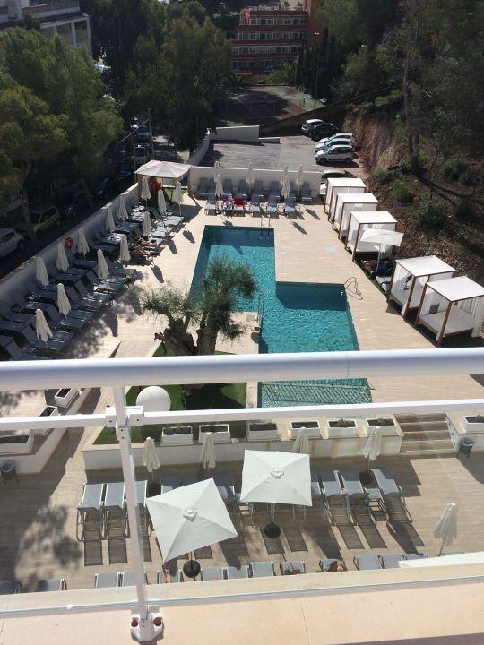 """Bild """"Sicht vom Hauptpool auf das Hotel"""" zu BQ Bulevar Paguera ..."""