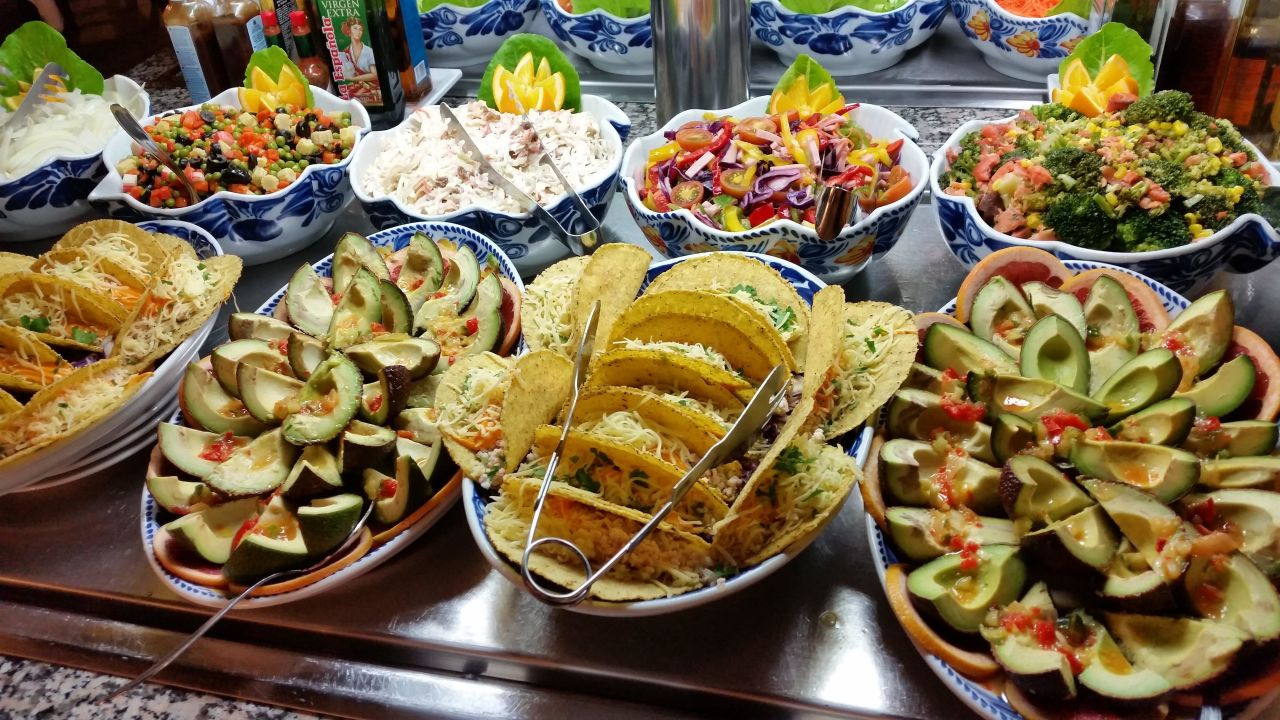 Mexikanisches Restaurant Hotel Riu Paraiso Lanzarote Resort Puerto