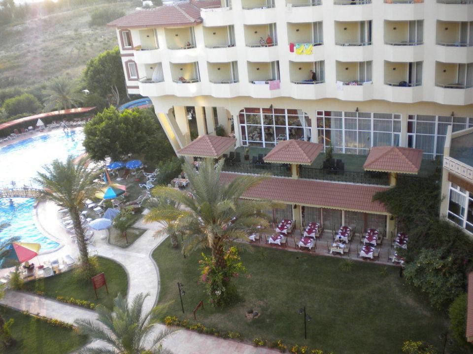 Vom Zimmer 4. Etage Hotel Nova Park