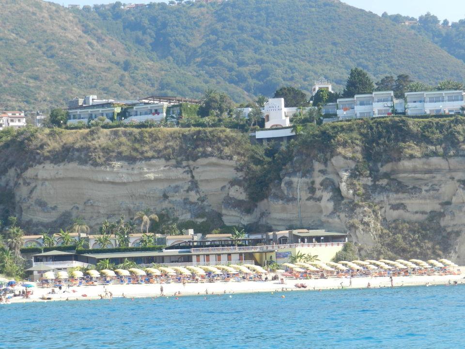 Sicht vom tretboot labranda rocca nettuno tropea tropea for Design hotels kalabrien