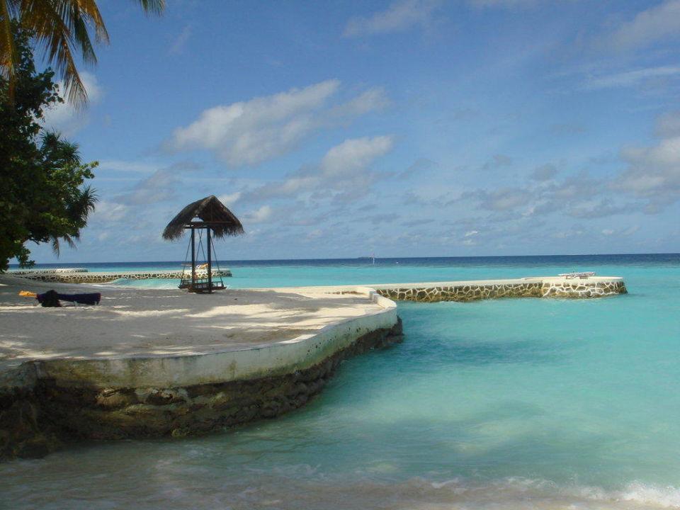 Meerblick mit Schaukel VOI Maayafushi Resort