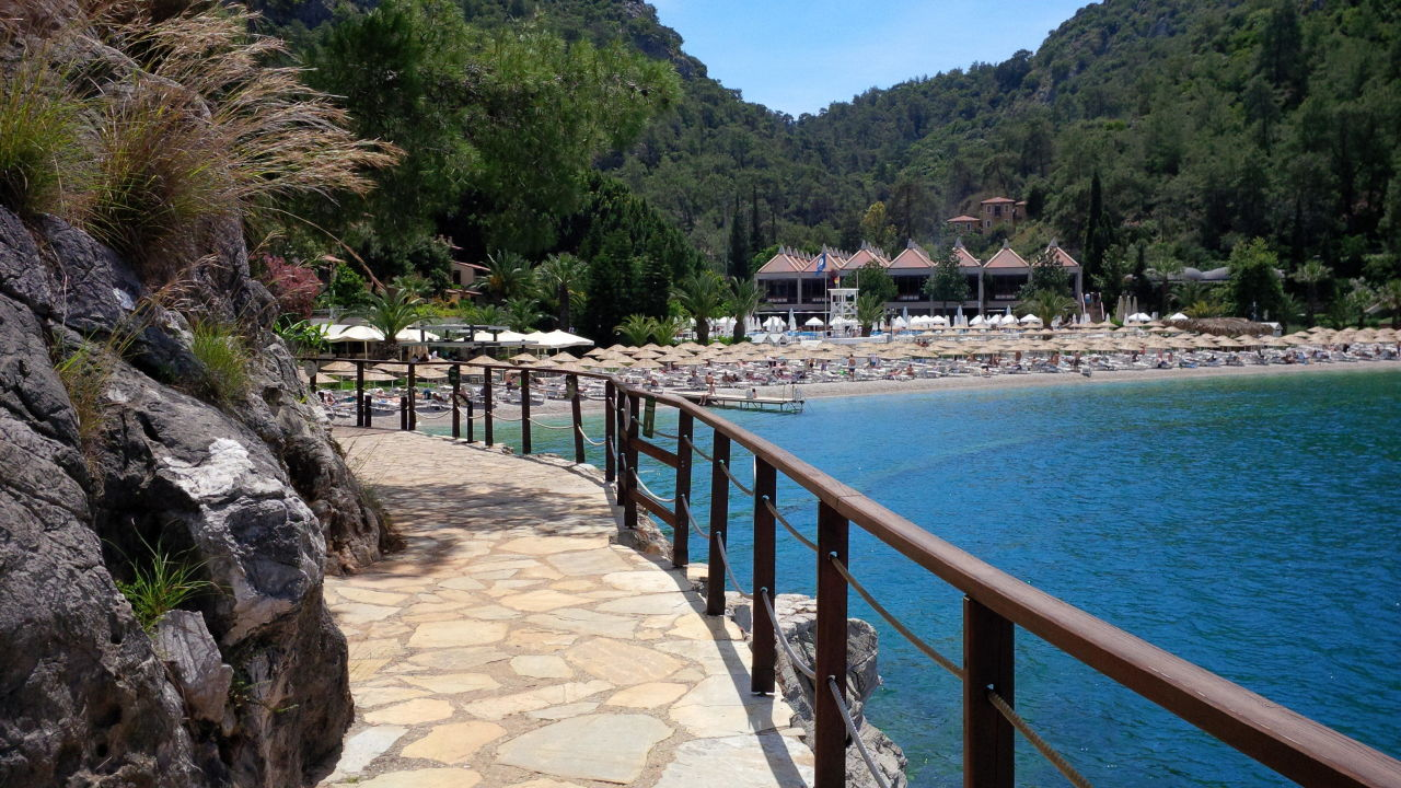 hauptstrand hillside beach club fethiye. Black Bedroom Furniture Sets. Home Design Ideas