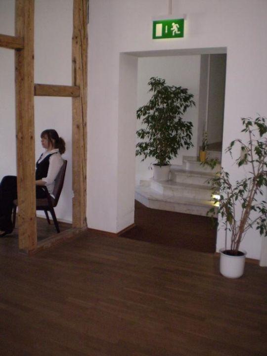Hotelflur Hotel Marburger Hof