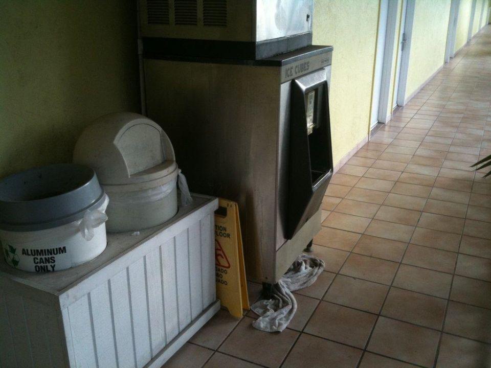 Eismaschine Hotel Bayside Inn Key Largo