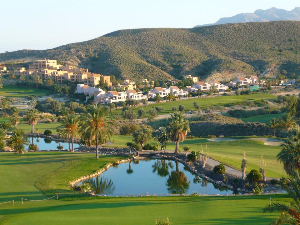 Blick zum Golfplatz Hotel Valle del Este Golf Spa