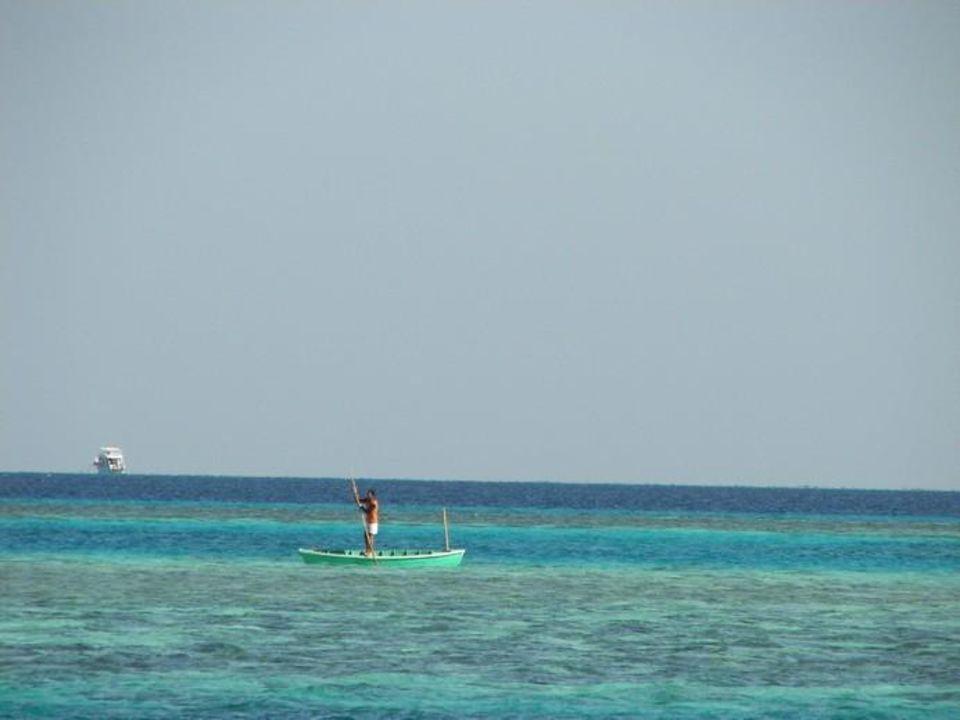 Widok z plaży hotelowej lti Agadir Beach Club