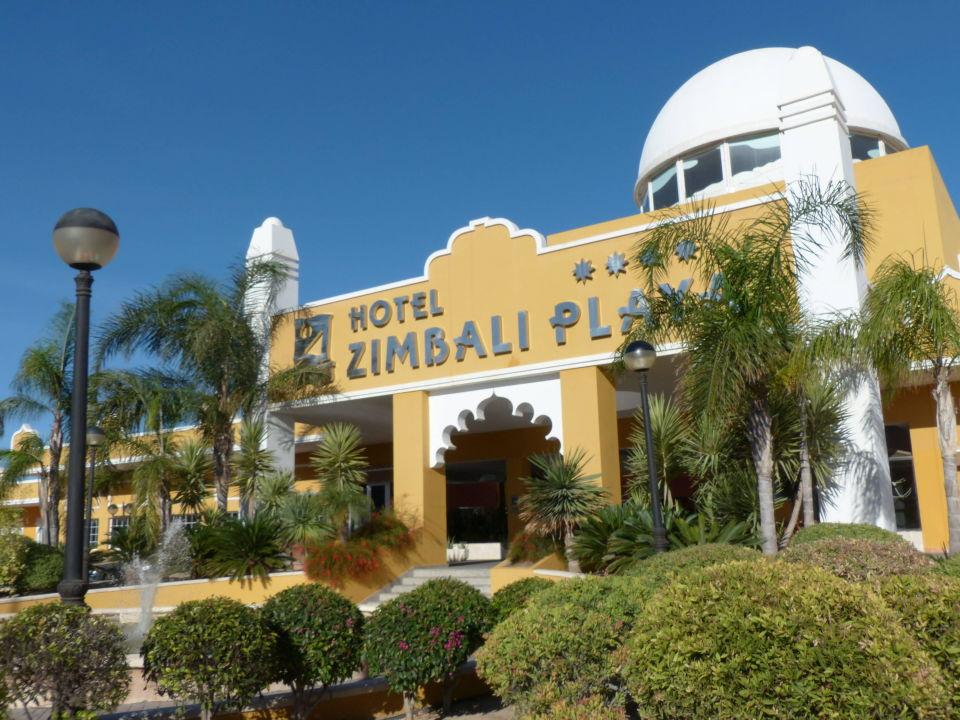 Eingang Zimbali Playa Spa Hotel