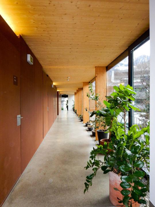 Neubau, Zugang zu den Zimmern Hotel Hinteregger