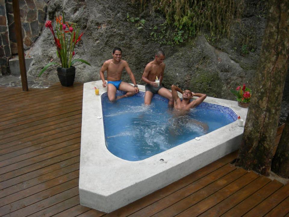 Unser Jacuzzi Im Garten Hotel Villa Roca Manuel Antonio