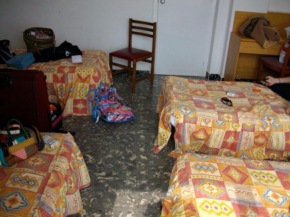 """Die tollen """"Betten"""" Hotel Fragata"""