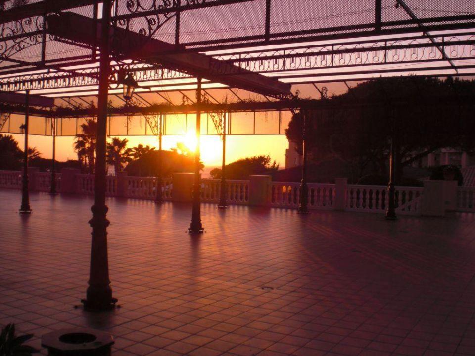 Sonnenuntergang vom Pool aus Hotel Valentin Sancti Petri