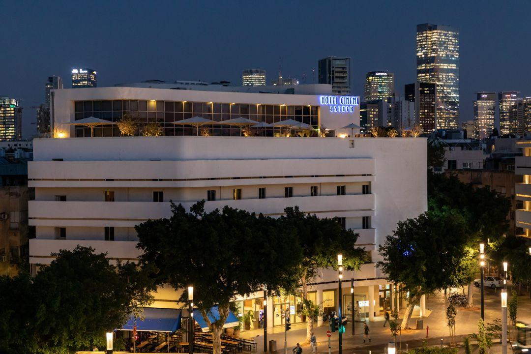 Außenansicht Hotel Cinema