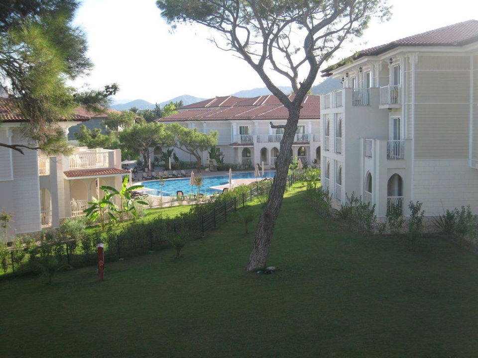 Ausblick aus dem Familienzimmer Hotel Güral Premier Tekirova