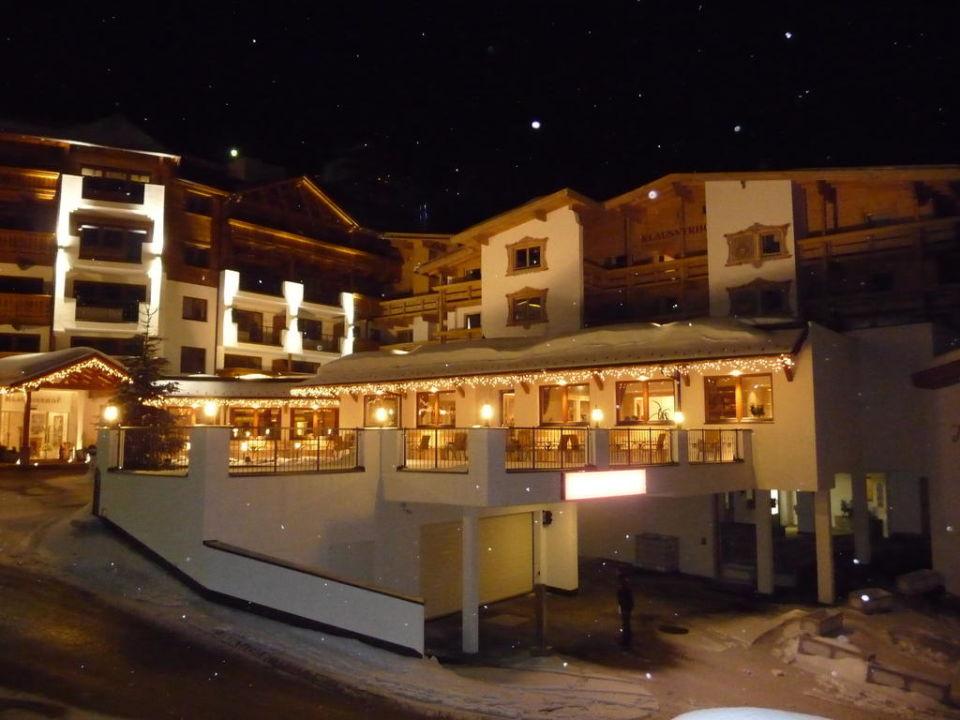 Blick von der Dachterrasse Hotel Klausnerhof