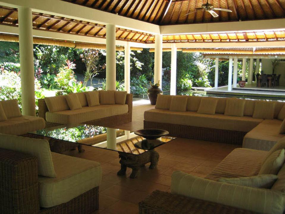 Open Air Lounge Jiwa Damai Retreat Bali