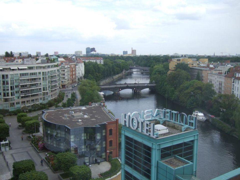 Blick aus dem Fenster (8. Stock) Ameron Hotel Abion Spreebogen