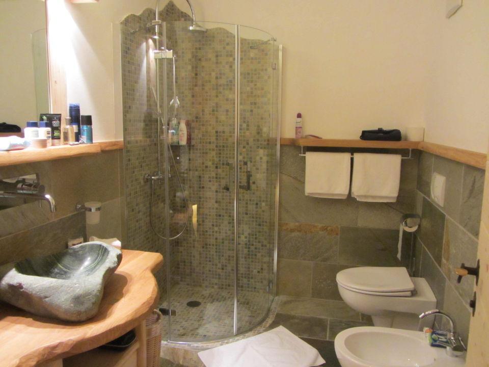 Das Badezimmer Piz Seteur