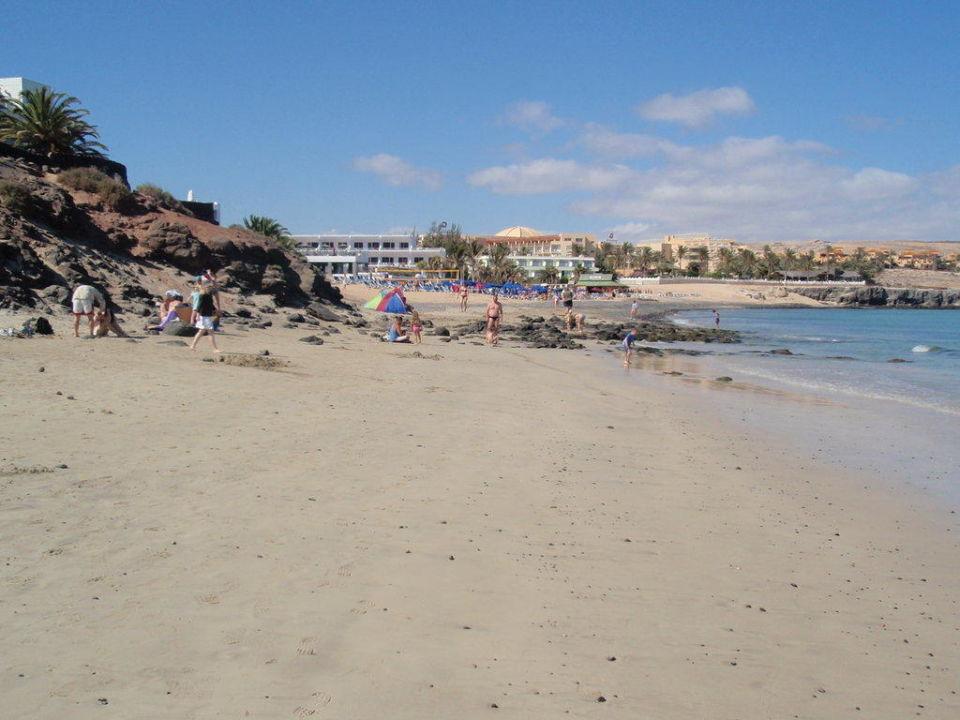 Am Strand der Costa Calma Hotel SBH Fuerteventura Playa