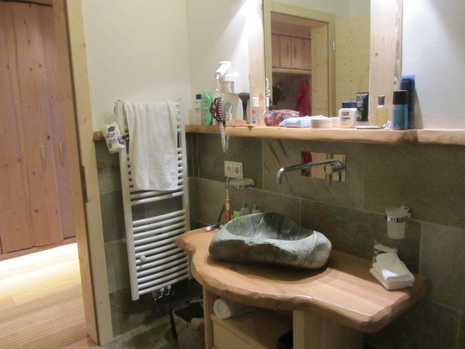 Das schicke Waschbecken Piz Seteur