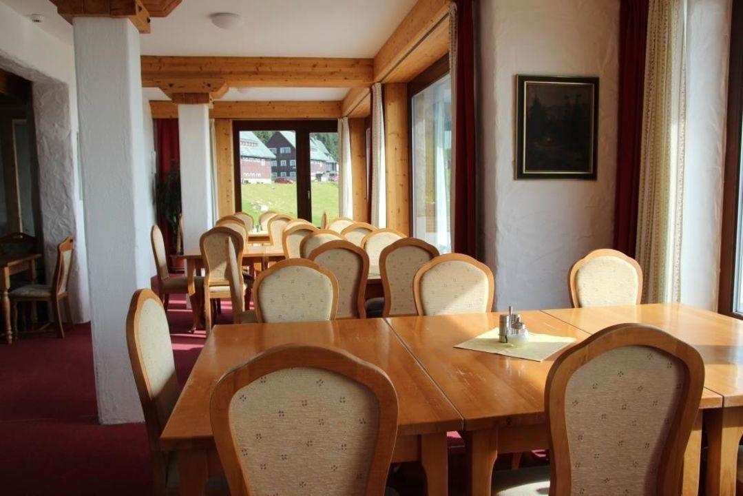 Oberes Restaurant- von uns nicht genutzt Resort Sv. František - Erlebachova Bouda