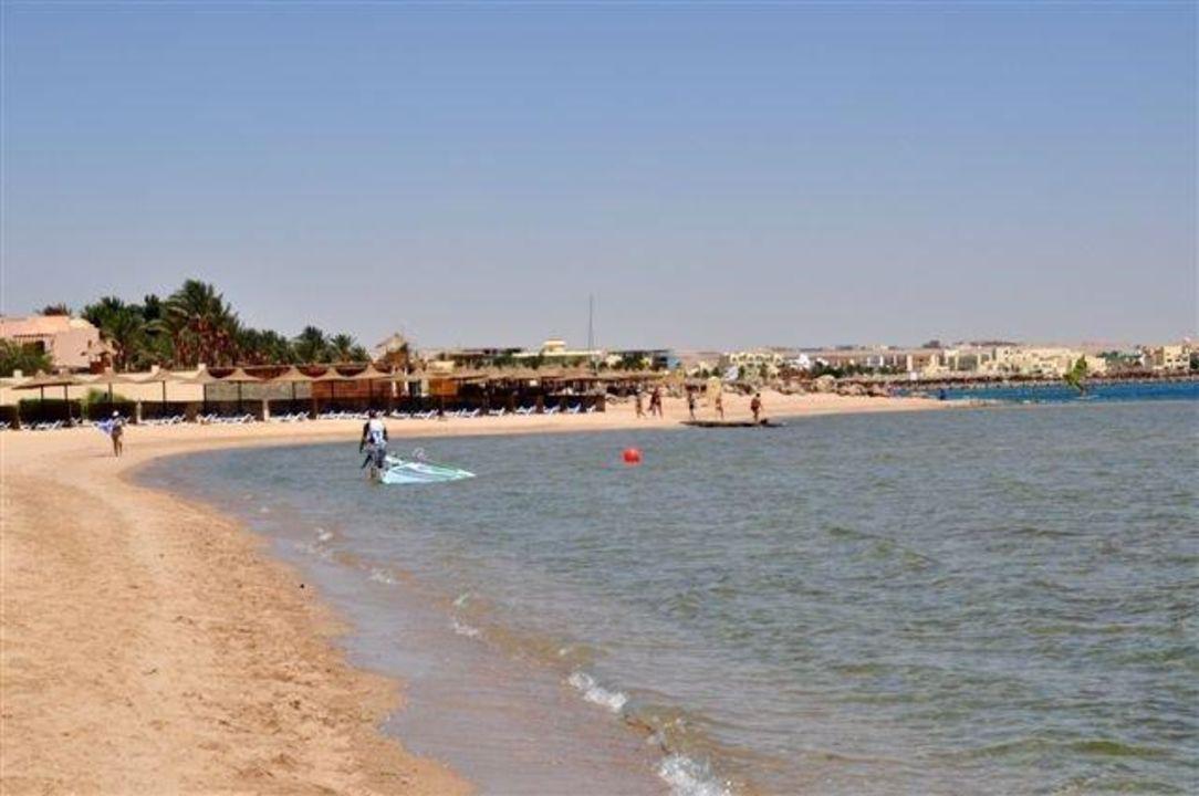Strandabschnitt Cleopatra Luxury Resort Makadi Bay