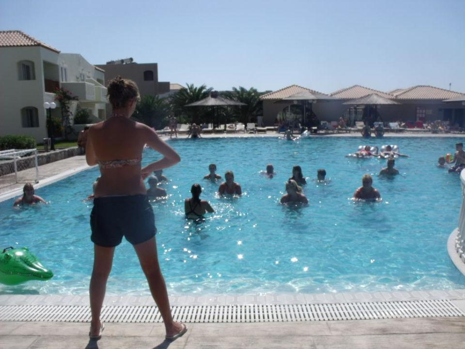Aqua aerobic Hotel Akti Beach Club