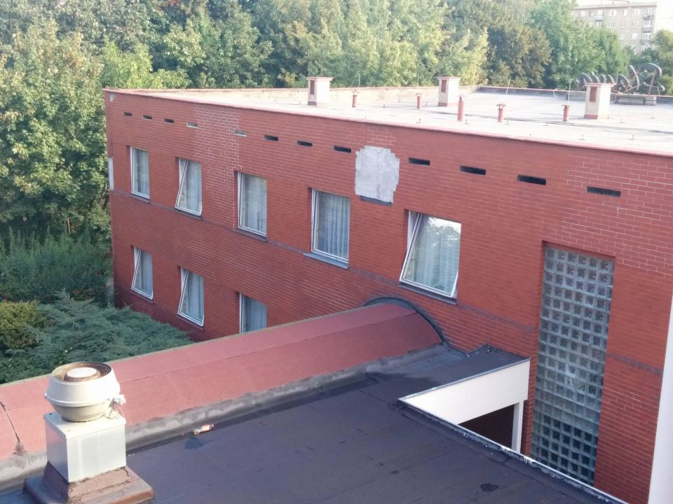 Kleine, teure optische Mängel Hotel Slavia