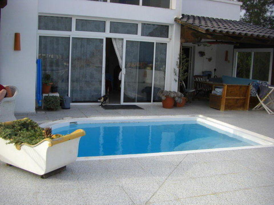 terrasse mit pool casa tamarco in tarajalejo holidaycheck fuerteventura spanien. Black Bedroom Furniture Sets. Home Design Ideas