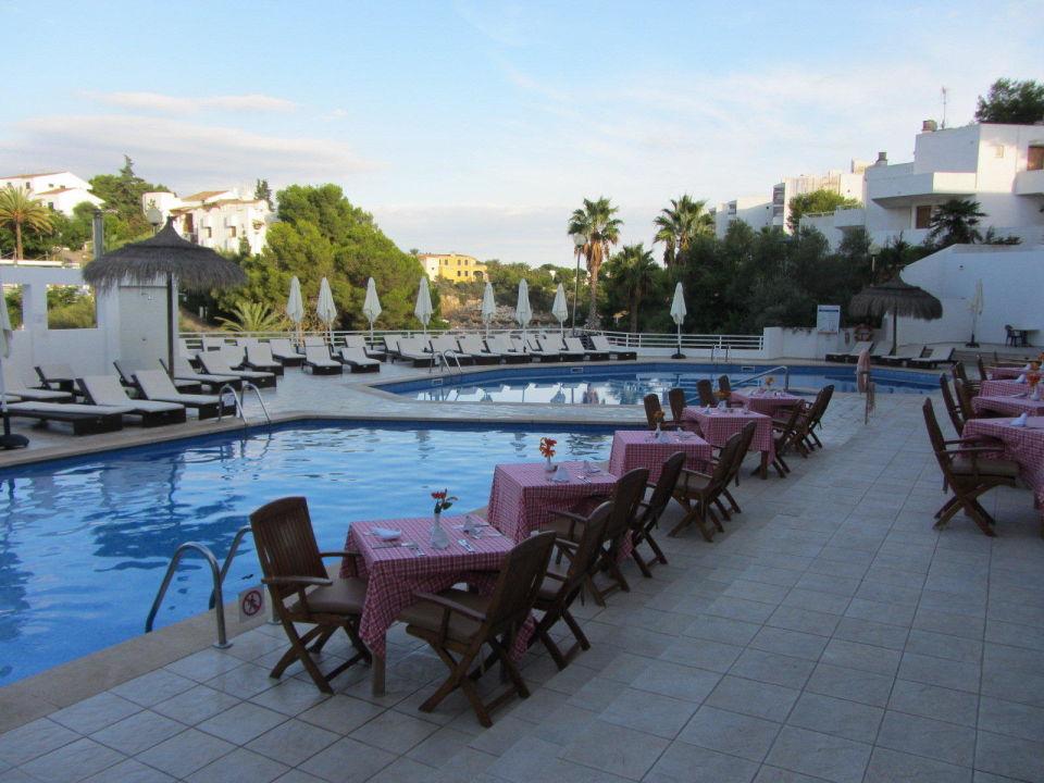 Ital. Restaurant am Abend  Mar Hotels Ferrera Blanca