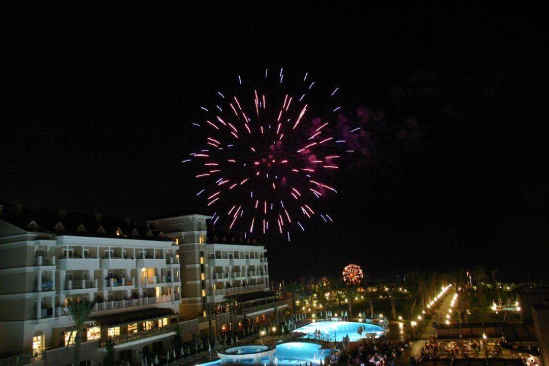 Feuerwerk Trendy Aspendos Beach Hotel