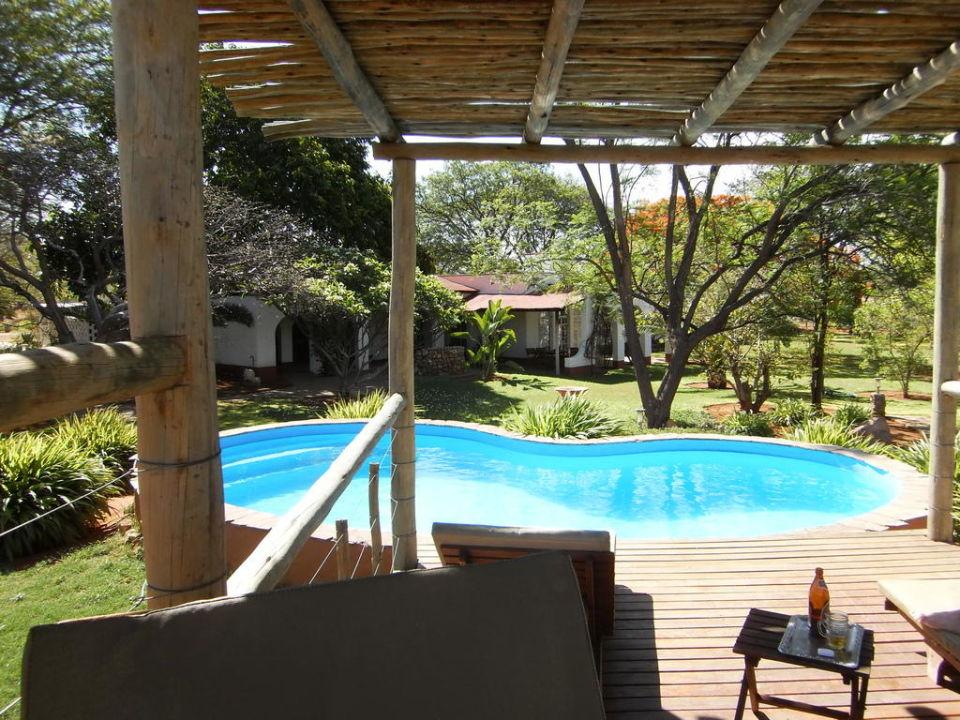 Klein, aber fein: Pool in Matunda Matunda Guest Farm