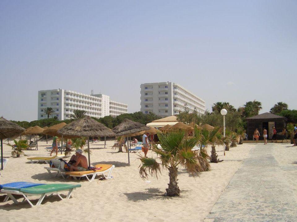 Haus 2 & 3 vom Strand aus Sahara Beach Aquapark Resort