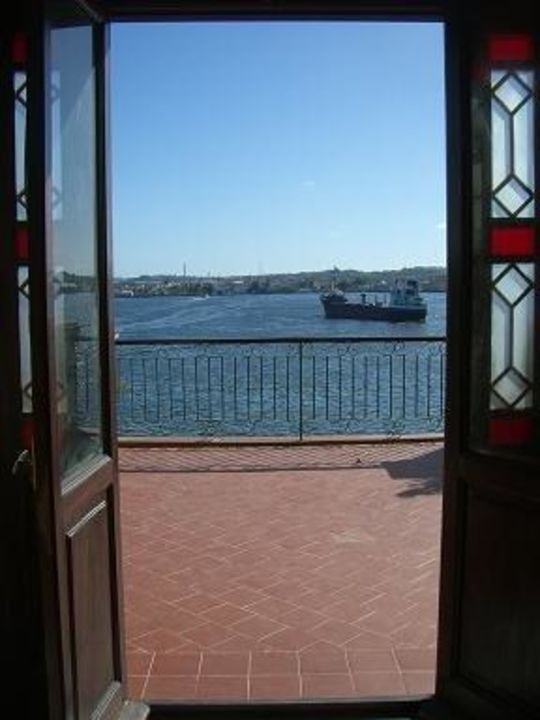Ausblick aus dem Zimmer Hotel Armadores de Santander