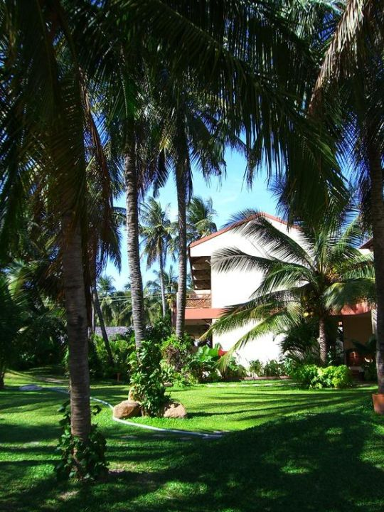 Le camere viste dal giardino Hotel Sunshine Beach Resort