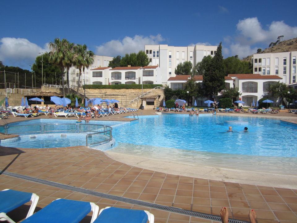 Der größte und schönste Pool der Anlage  FERGUS Club Europa
