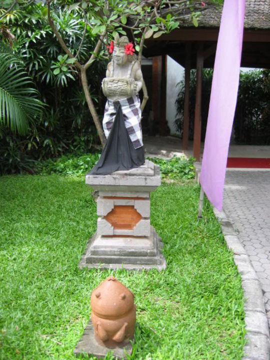 Gartenlandschaft Bali Padma Hotel Padma Resort Legian
