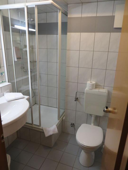 Kleine Duschkabine Hotel Residenz
