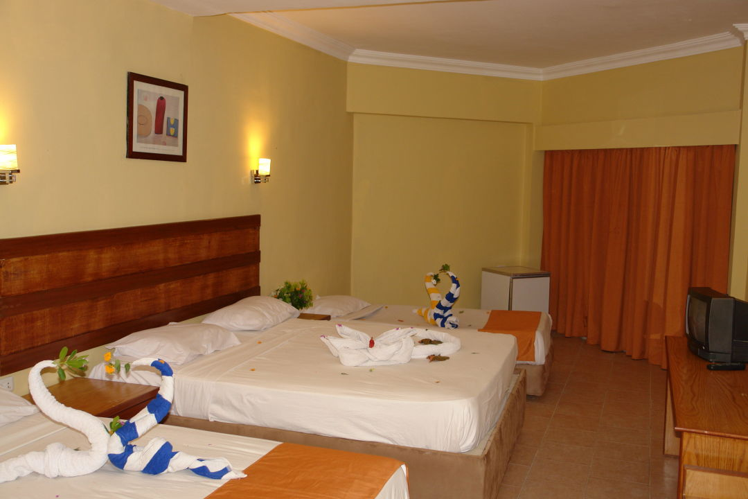 Bild family rooms zu hotel aqua fun in hurghada for Hotels with family rooms for 5