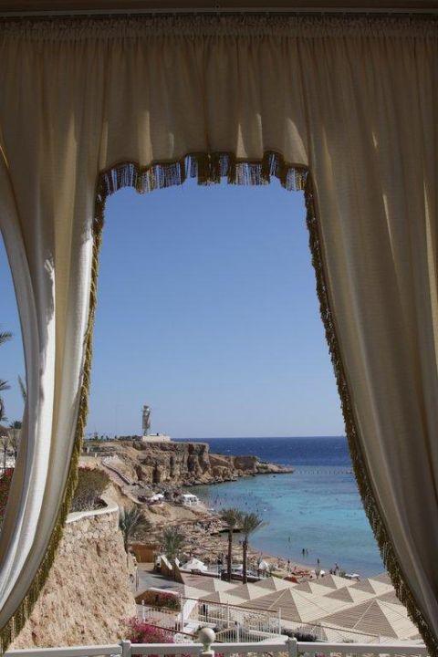 Blick aus dem Turm Hotel Reef Oasis Beach Resort