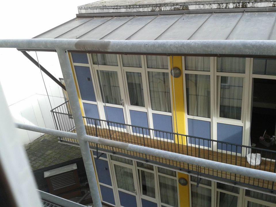 Ausblick vom Zimmer Hotel Meier City München