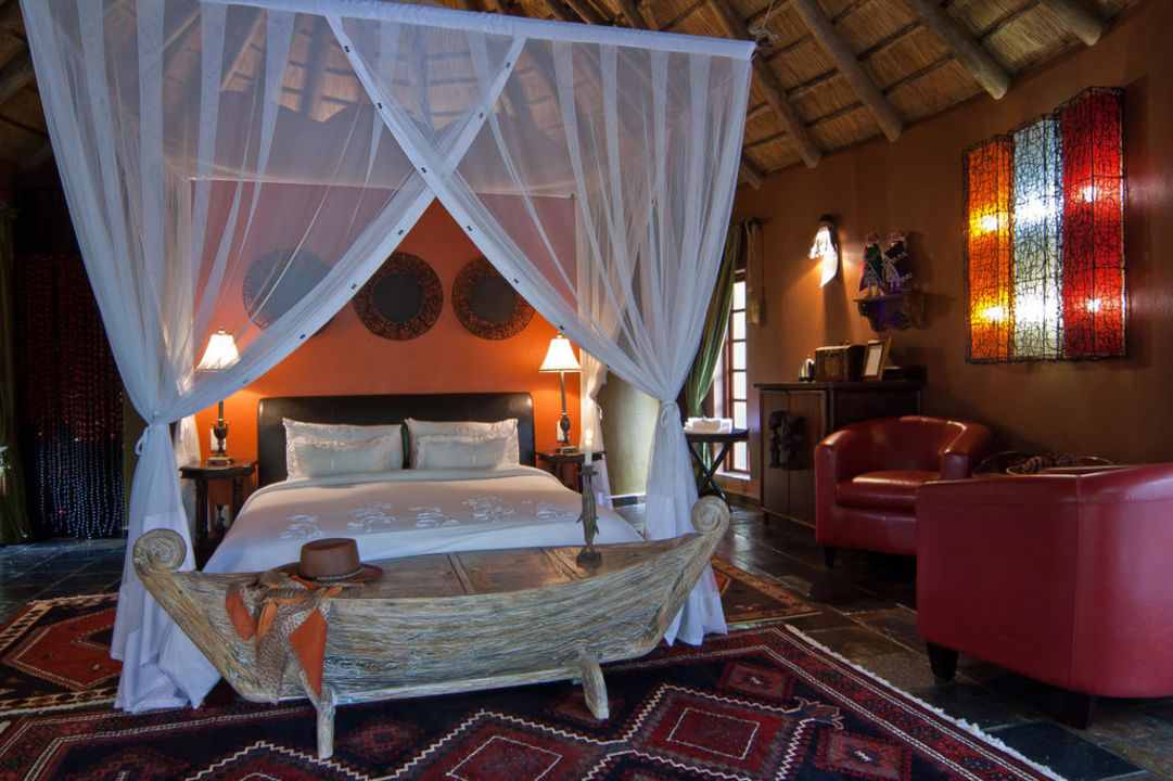 Luxurious chalet Aquanzi Lodge