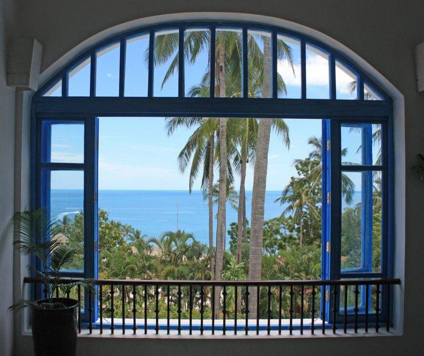 Lobby Fenster The Imperial Samui (Vorgänger-Hotel – existiert nicht mehr)
