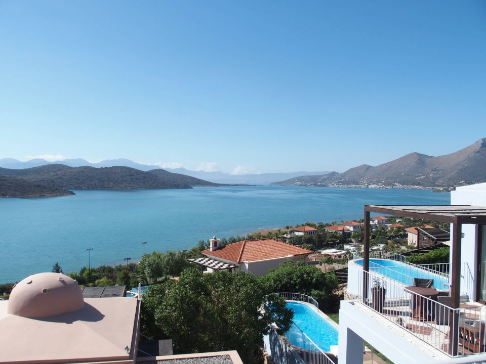"""Blick vom Balkon"" Domes of Elounda, Autograph Collection ..."