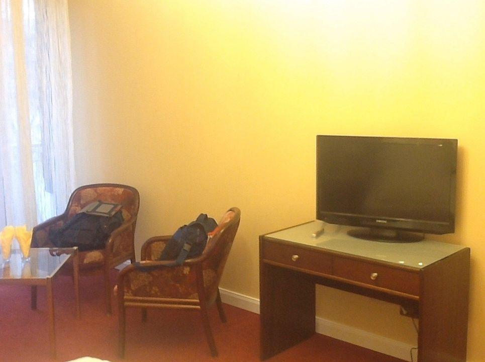 superior suite sitzecke und fernseher hotel kleiner riesen koblenz holidaycheck. Black Bedroom Furniture Sets. Home Design Ideas