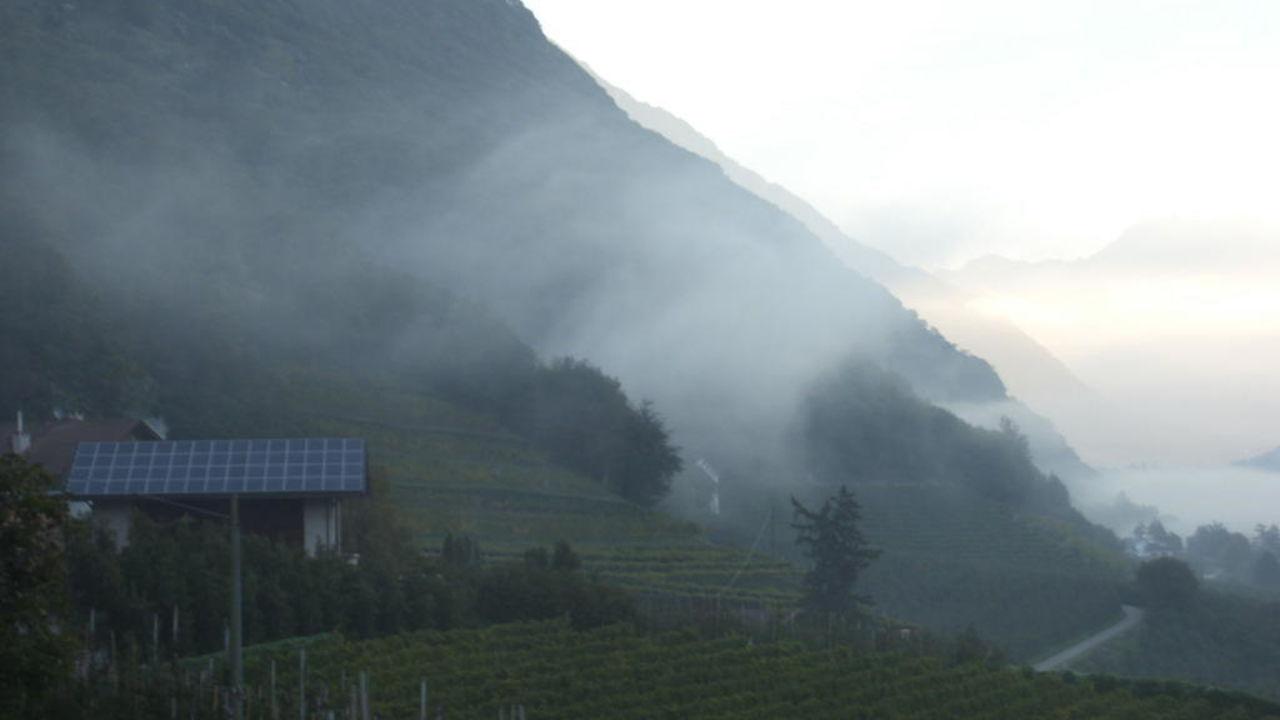Morgens um 7 Uhr Oberbrunnhof Ferienwohnungen