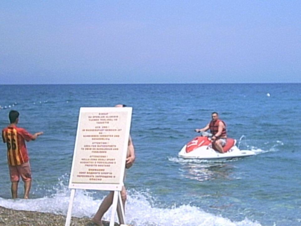 Jetski Fahren Ulusoy Kemer Holiday Club