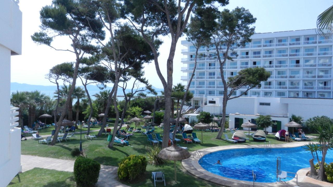 Rechter Balkonblick Playa Esperanza Suites